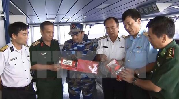 越南CASA212失事飞机的两个黑匣子已被找到并打捞 hinh anh 2