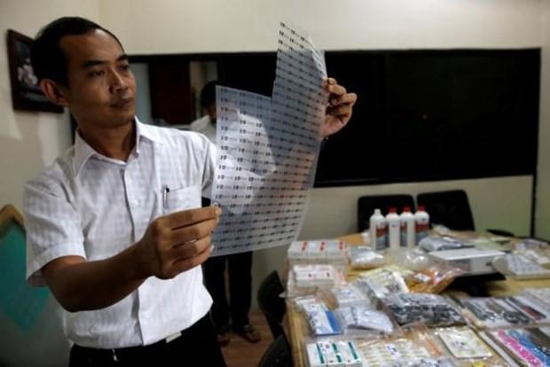 印尼警方破获制造与分销假疫苗团伙 hinh anh 1