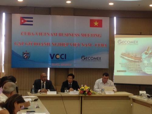 越南与古巴加强合作促进外贸发展 hinh anh 1