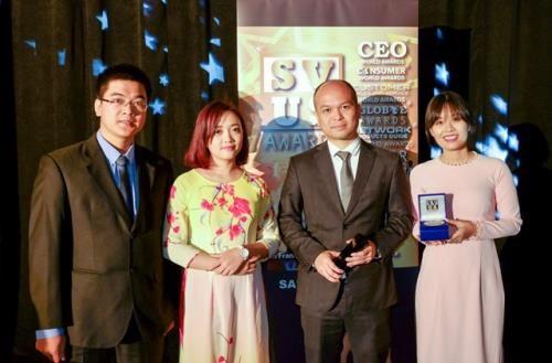 越南军队通讯集团获得信息技术产品黄金奖 hinh anh 1