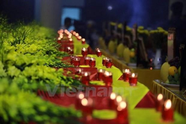 老挝总理通伦就越南两架飞机失事事件向越南政府总理致慰问电 hinh anh 1