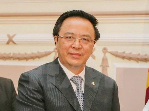 越南共产党代表团对智利和阿根廷进行访问 hinh anh 1