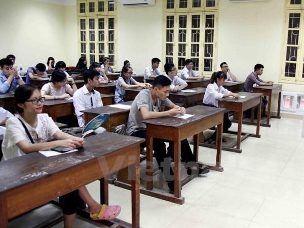 87万多名学生进入国家高中考试第一天 hinh anh 1