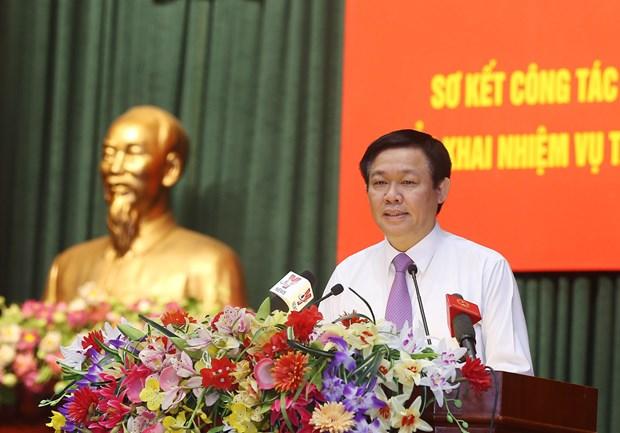 王廷惠副总理:财政部努力确保完成预算收支目标 hinh anh 1