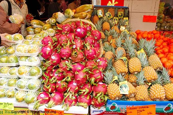 越南对美国、日本的水果出口量增长81% hinh anh 1