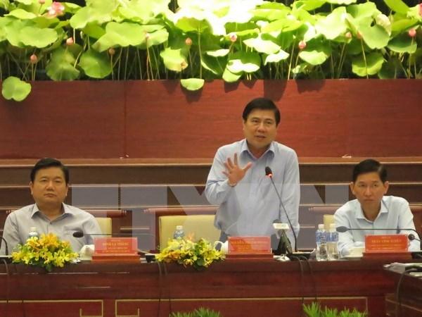 胡志明市力争实现到2020年企业数量达50万户的目标 hinh anh 1