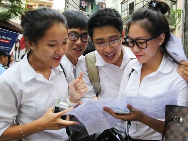 越南2016年国家高中毕业和大学入学统一考试圆满结束 hinh anh 1