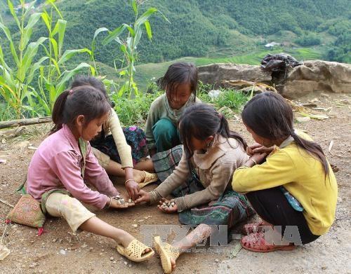 越南在儿童保护事业取得积极进展 hinh anh 1