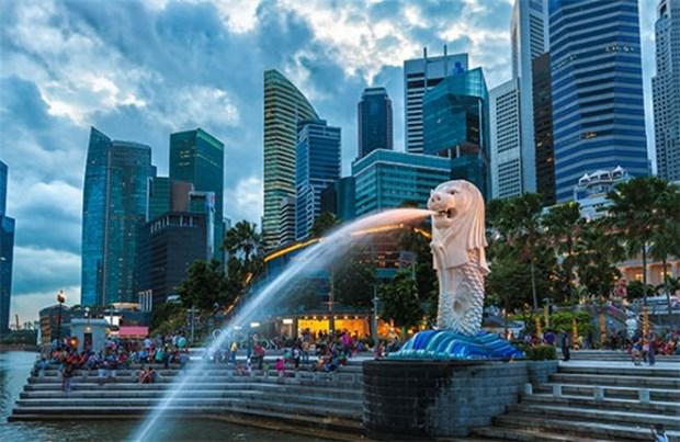新加坡在亚洲金融科技中心争夺战中处于领先地位 hinh anh 1