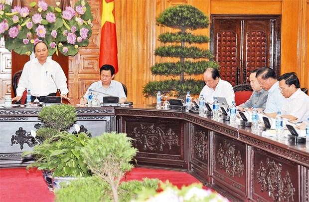 阮春福总理:着力确保公共投资资金按时到位 完成2016年计划 hinh anh 1