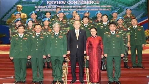 越南将派遣女军官参与联合国维和行动 hinh anh 1