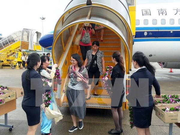 中国南航正式开通广州至越南富国岛直达航线 hinh anh 1