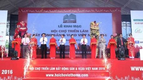2016年越南房地产和建材展览会开幕 hinh anh 1