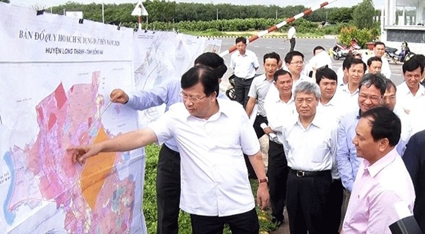 政府副总理郑廷勇:至2019年动工兴建龙城国际机场 hinh anh 1