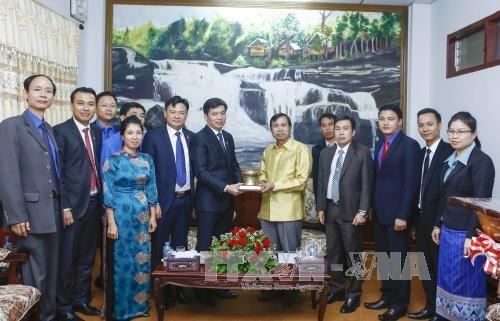 加强越老年青对两国特殊团结和传统友好关系的教育力度 hinh anh 1