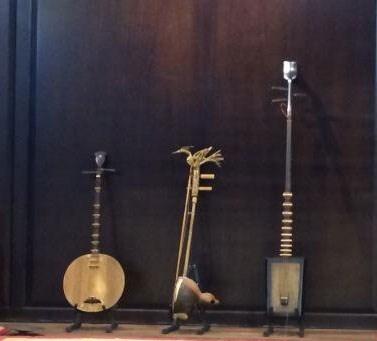 河内古街区民族传统乐器展给参展观众留下美好印象 hinh anh 1