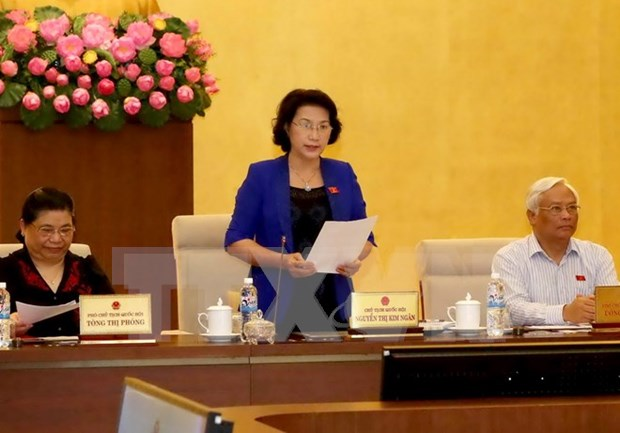 越南第十三届国会常委会第五十次会议在河内开幕 hinh anh 1