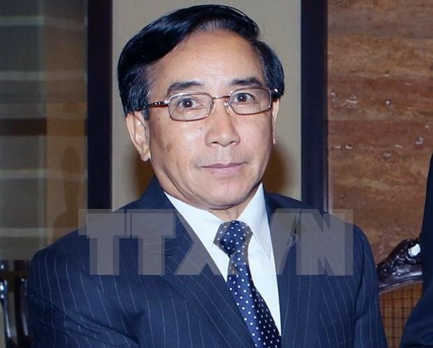 老挝人民革命党中央书记处常务书记、国家副主席潘坎·维帕万对越南进行正式访问 hinh anh 1