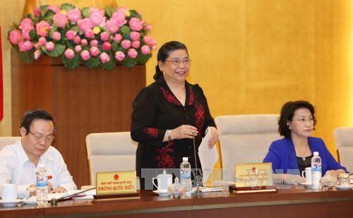 第十三届国会常委会第五十次会议:部署2016年下半年经济社会任务 hinh anh 1