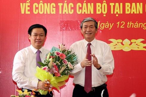 越南政府副总理王廷惠被任命为越南西南部指导委员会主任 hinh anh 1