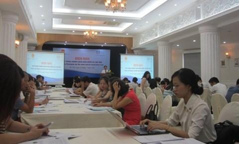 新社会保险政策对话论坛在河内举行 hinh anh 1