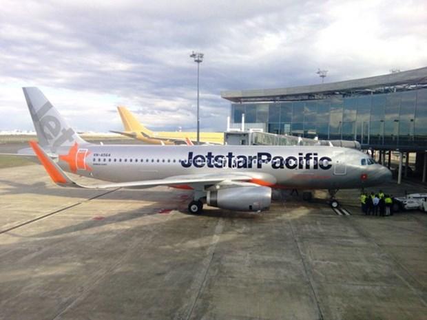 越南捷星太平洋航空接收首架装配鲨鳍小翼的空客A320飞机 hinh anh 1