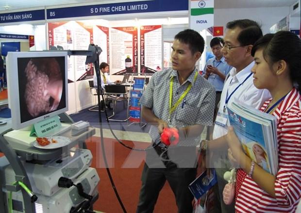 国际药品与医疗器械展览会将于下月在胡志明市举行 hinh anh 1