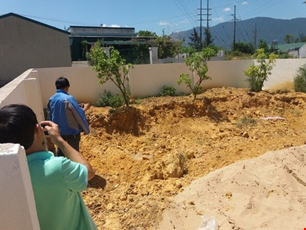 145.4吨Formosa废弃物被运往富寿省 抽样分析确定废物种类 hinh anh 2