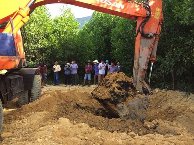 145.4吨Formosa废弃物被运往富寿省 抽样分析确定废物种类 hinh anh 1