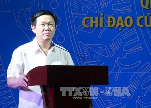 越南政府副总理王廷惠出席计划投资部门全国会议 hinh anh 1