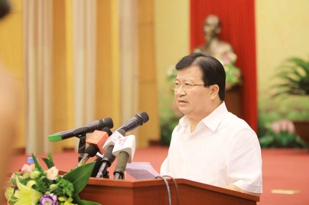 政府副总理郑廷勇:加强自然资源管理、环境保护和应对气候变化 hinh anh 2
