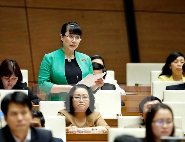 越南国家选举委员会召开第八次会议 审查确认494名国会代表资格 hinh anh 1
