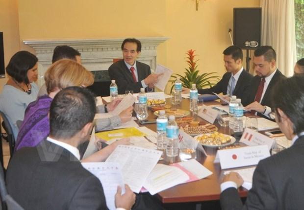 越南和TPP成员国加强与墨西哥的经贸投资关系 hinh anh 1