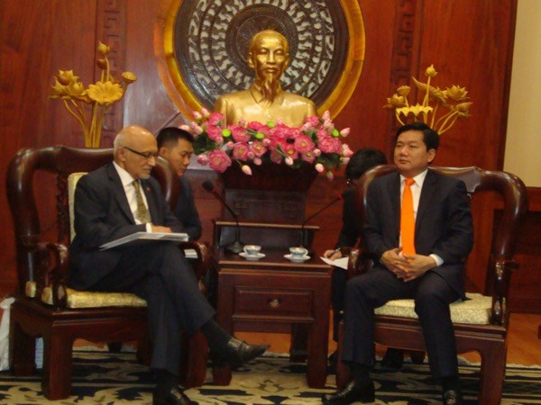 胡志明市与美国加强投资合作关系 hinh anh 1