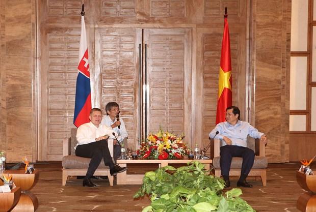 斯洛伐克总理罗伯特·菲乔访问岘港市 hinh anh 1