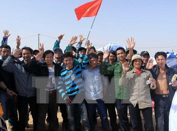 加强保护越南劳动者出国劳务的权益 hinh anh 1