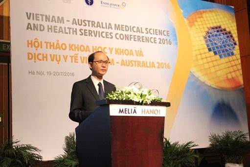 越南与澳大利亚加强医学和卫生服务的合作 hinh anh 1