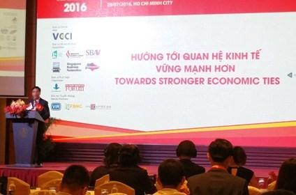 越南新加坡企业家论坛:促进越新经贸投资的重要平台 hinh anh 1