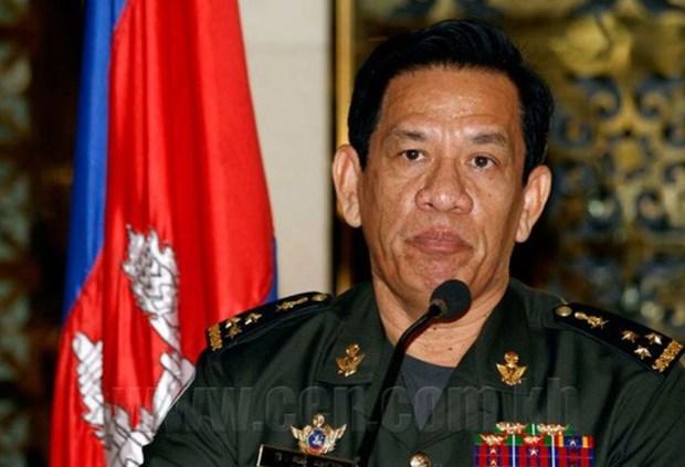 柬埔寨军队宣称涉政变阴谋的嫌疑人身份已被锁定 hinh anh 1