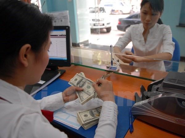 越南国家银行越盾兑美元中心汇率较前一日下跌14越盾 hinh anh 1