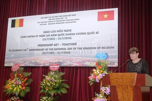 比利时驻越南大使让娜·罗卡:越比两国友好合作关系日益密切 hinh anh 1