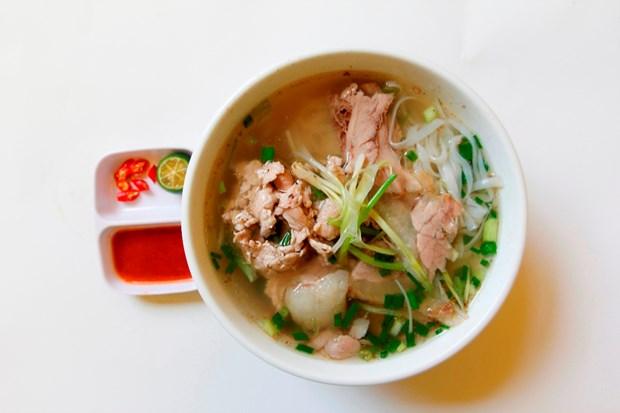 河粉——河内市民早餐再熟悉不过的食物 hinh anh 1