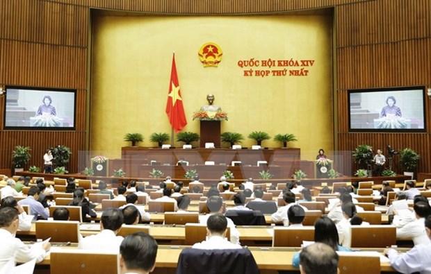 第十四届国会一次会议:相信新一届国会常委会将不辜人民的重托 hinh anh 1