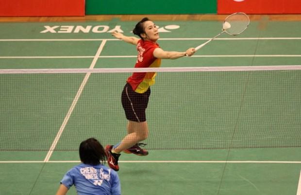 2016年越南羽毛球公开赛:武氏妆晋级第二轮 hinh anh 1