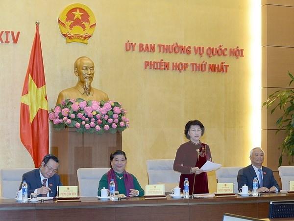 越南第十四届国会常委会召开第一次会议 hinh anh 1