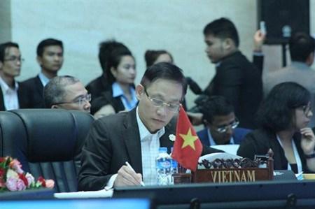 第49届东盟外长会推动实施东盟共同体愿景 hinh anh 2