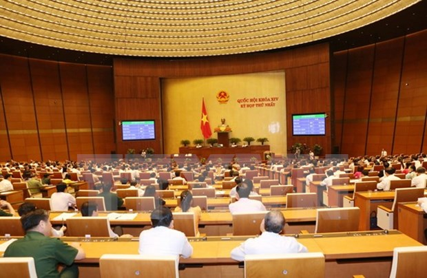 越南第十四届国会第一次会议发表第三号公报 hinh anh 1