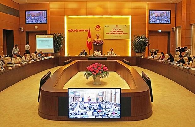 英国协助越南提高年轻国会代表的履职能力 hinh anh 1