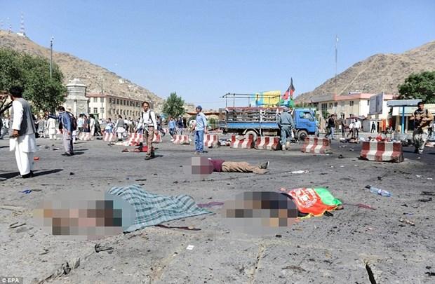 越南就喀布尔自杀式爆炸袭击向阿富汗致慰问电 hinh anh 1