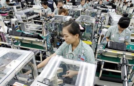 2016年上半年越南手机及电脑出口额达近250亿美元 hinh anh 1